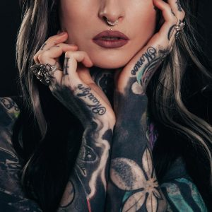 Woman with LA Ink Tattoo Categories